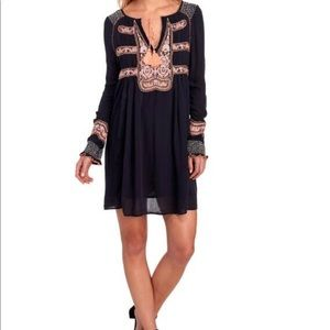 Free People Wind Willow Peasant Dress